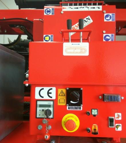 PILE DRIVER AI1200 ENGINE 4H50TIC